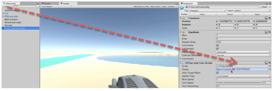 Adding and Driving a car in Unity using built-in Vehicle