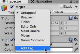 Figure 15: Creating a tag (part 2)